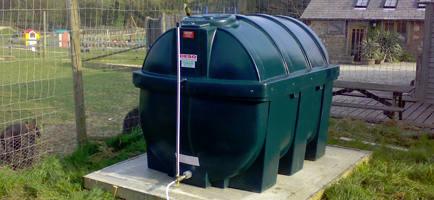 Outdoor Oil Heating Tank