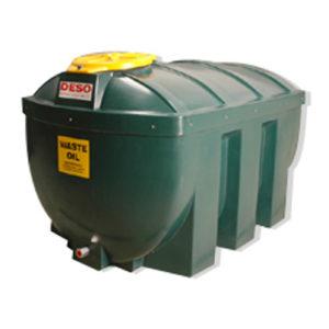 deso h1235 wow 1235 litre waste oil tanks