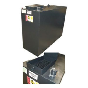 750 litre bunded waste oil tank