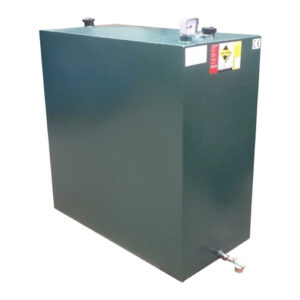 900 litre steel heating oil tank with locking lid