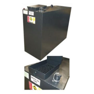 1150 litre bunded waste oil tank
