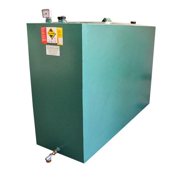 1350L Single skin oil tank