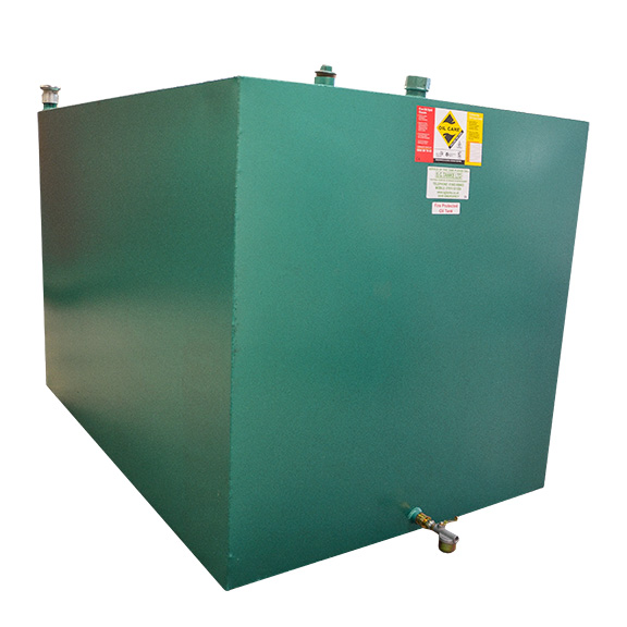 2450L fire protected bunded oil tank