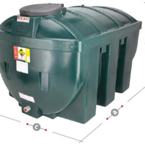 DESO oil tank H1235BT