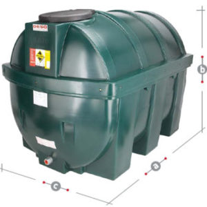 DESO oil tank H1800BT