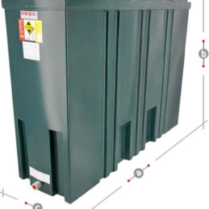 DESO Oil tank SL1400BT