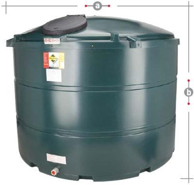 DESO oil tanks V3500BT