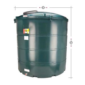 Plastic Bunded Heating Oil Tanks